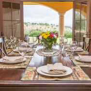 Enjoy the 20 mile views through the double doors that lead out of the dining area as the sound of music and laughter fills the house.
