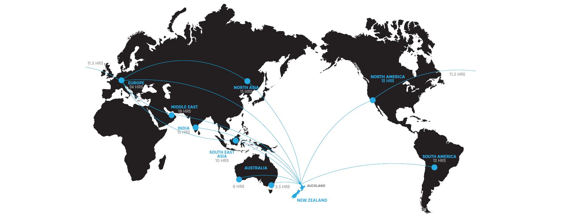 Flight-routes-map