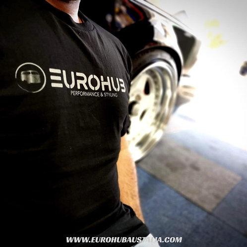 EUROHUB Black T-Shirts