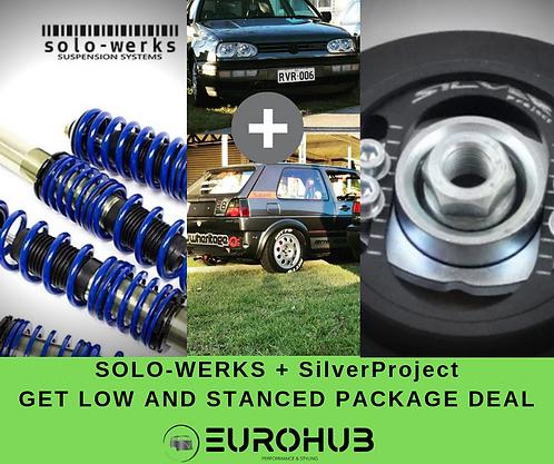 SOLO-WERKS / SilverProject COMBO - MK2/MK3 GOLF