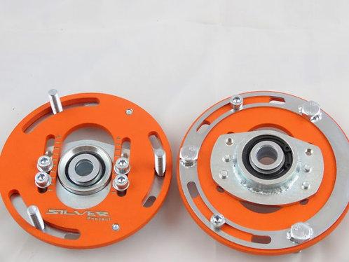 SilverProject Camber Plates BMW E30, E34, E28, E24 for use with Coilovers