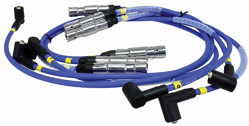 Magnecor Ignition Lead Set VR6 with Coil Pack 8mm Blue > Mk3 golf 1992-1998