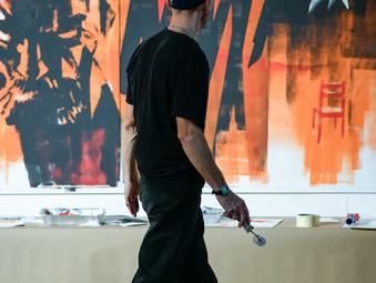 Kroz neverbalni strip i live painting do Van Gogha