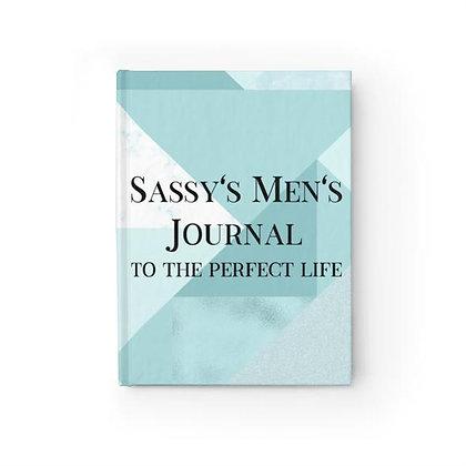 Sassy's Men's Journal - Ruled Line - Blue Squared