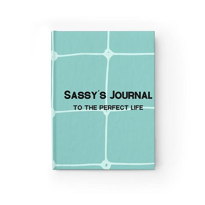 Sassy's Journal - Ruled Line - Turquoise