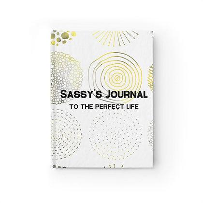 Sassy's Journal - Ruled Line - Golden Rings