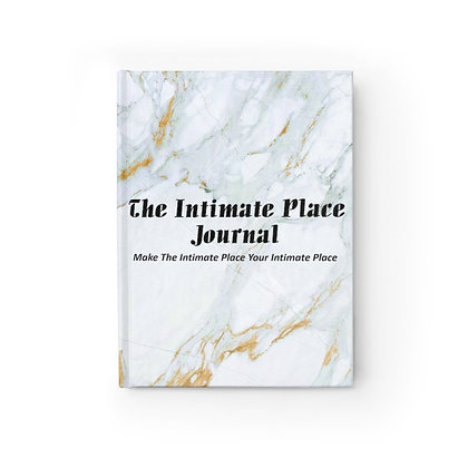 The Intimate Place Marble Journal