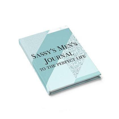 Sassy's Men's Journal - Ruled Line - Gray Squared