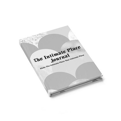The Intimate Place Journal - Ruled Line - Gray Balloons