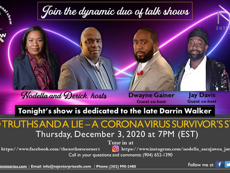Intimate Talk Show 12-3-20