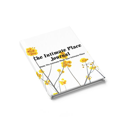 The Intimate Place Yellow Flowers Journal
