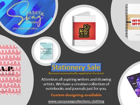 Notebook/Journal Sale