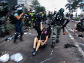 While U.S. tackles police brutality, Hong Kong is in denial