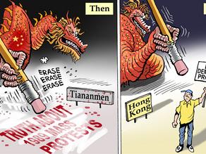 Absurdity : 4 June 2021 Tiananmen massacre commemoration cancelled in communist HK