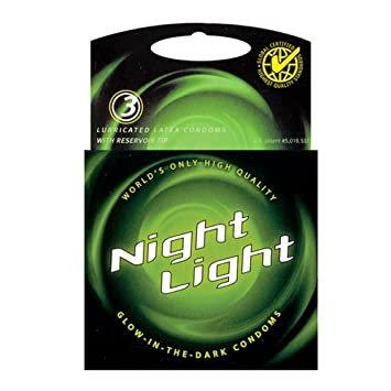 Night Light - Condón Brillante en la Oscuridad