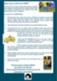 Funcinament i normes per fer de taxi a l'escola Ball  la carta de la Garriga