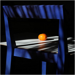 """""""Orange sur Bleu"""" élue photo de la semaine site lense.fr du magazine FISHEYE (25/01/21)"""