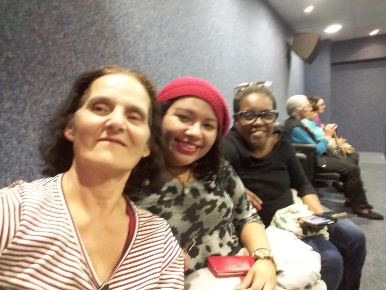 Aposentada Aida, Ana Danielle e Eliza Ca