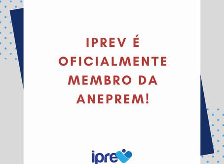 IPREV é oficialmente membro da ANEPREM