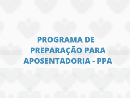 IPREV realizará Programa de Preparação para Aposentadoria (PPA)