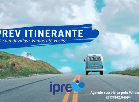 Projeto IPREV Itinerante: A informação vai até você