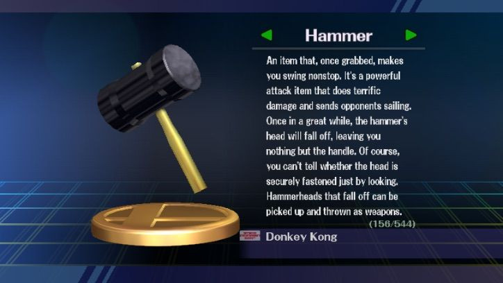 Picture of Smash Brothers' Hammer
