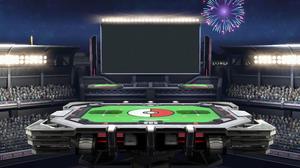 Pokemon Stadium Stage in Smash