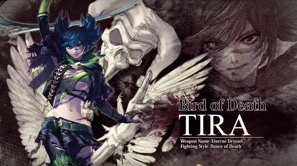 Promotional imagery for Tira