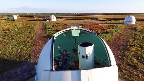 Observatoire astronomique de Cestas en Gironde. Soirées d'astronomie aux télescopes.