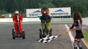 ARDEN GYROPODE - Robin sur le circuit de Spa Francorchamps
