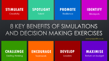 Simulate to Stimulate - The 8 key benefits of simulations and decision making exercises