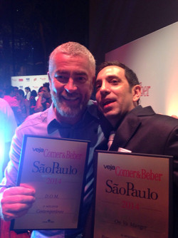 With Great Chef Alex Atala
