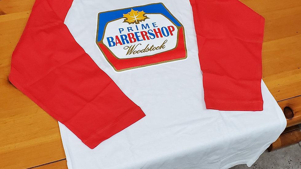 3/4 sleeve BEER LEAGUE baseball T-shirt