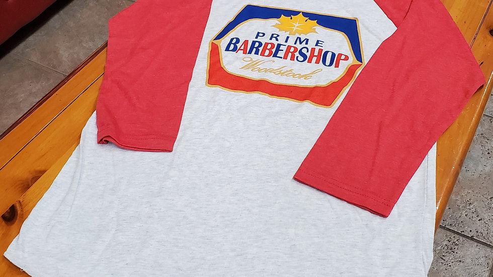 3/4 sleeve I WAS baseball T-shirt