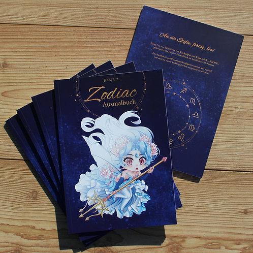 A5 Ausmalbuch Zodiac