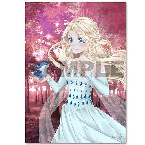 A4 Poster | Print Die Königin des Eises