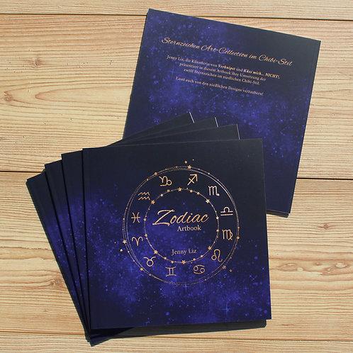 Artbook Zodiac 20x20cm