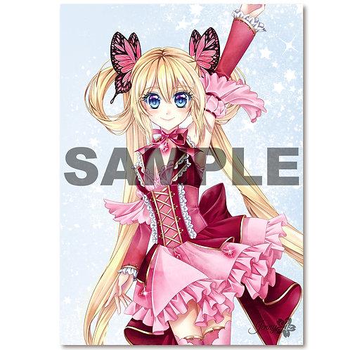 A4 Poster | Print Magical Girl Rapunzel