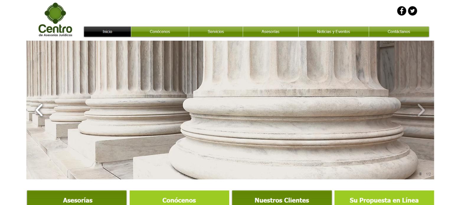 Centro de Asesorías Jurídicas