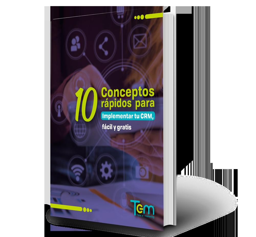 Una de las principales herramientas de marketing y marketing digital es el CRM, no puede faltar en tu estrategia. Obtén 10 conceptos rápidos para que puedas implementar el tuyo.