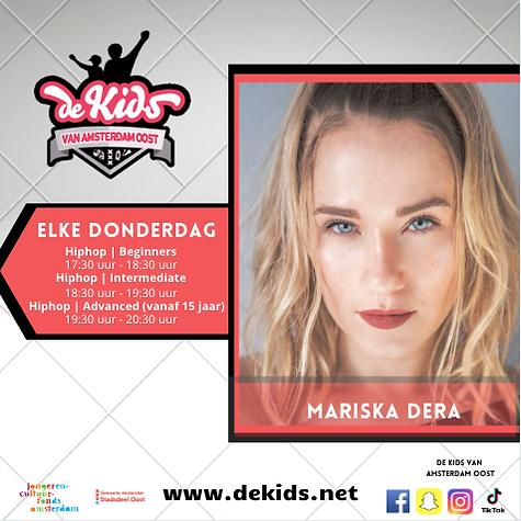 KvAO-Hiphop donderdag-Mariska Dera.png