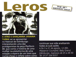 Leros Magazine London