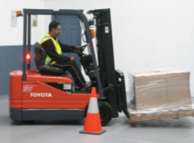 Forklift Licence Student Practice Drivin