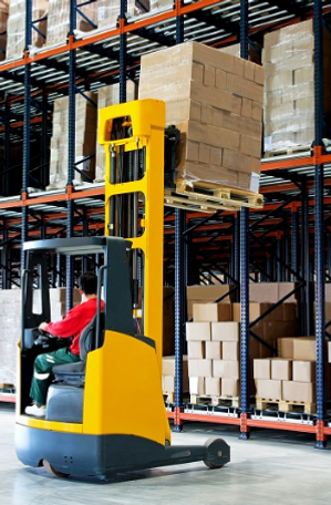 High Reach Forklift Training Onsite Parr
