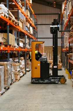 High Reach Forklift Training Onsite Ryde NSW