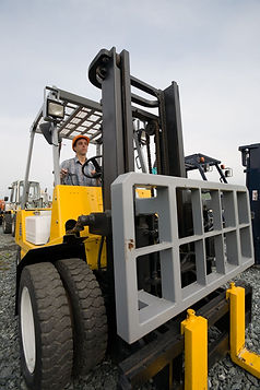 Rough Terrain Forklift Licence Training Rutherford Newcastle NSW