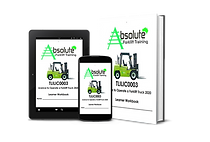 Forklift licence training manual Newcastle NSW