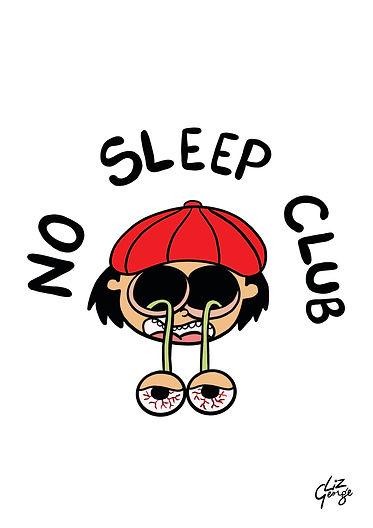 No Sleep Club-Dark humor