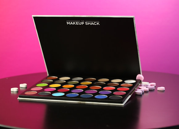 The makeup shack - rainforest palette