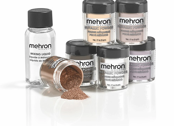 METALLIC POWDER .17 oz & Mixing liquid 1oz